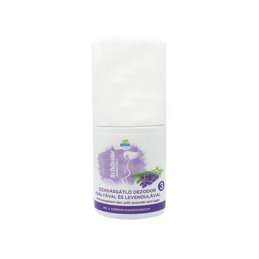 Schüssler Natur antiperspirant deo with sage and lavandel